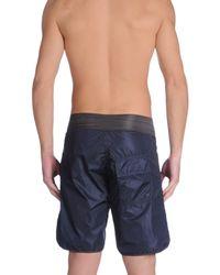 Tooshie Blue Swimming Trunks for men