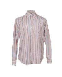 Henry Cotton's Blue Shirt for men