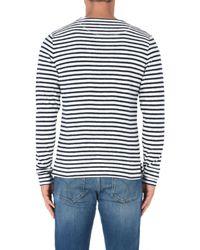 Scotch & Soda Blue Sweatshirt for men