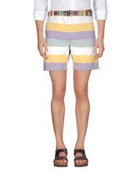 Suit Yellow Bermuda Shorts for men