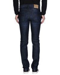 Henry Cotton's Black Denim Trousers for men