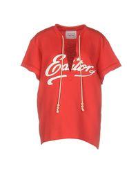 Saucony - Red Sweatshirt - Lyst