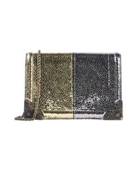 Tipe E Tacchi Metallic Cross-body Bag