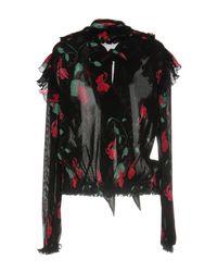 Balenciaga Black Blouse