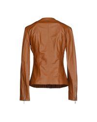 Michael Kors - Brown Jacket - Lyst