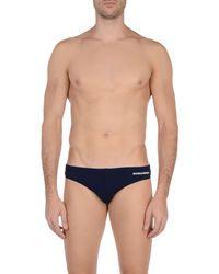DSquared² Blue Swim Brief for men
