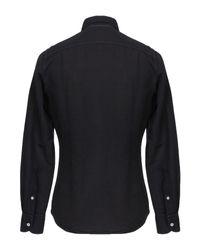 Chemise Glanshirt pour homme en coloris Black