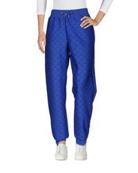 Pantalone di Moschino in Blue