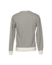 Mauro Grifoni White Sweatshirt for men