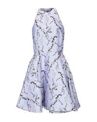 Vestito corto di Mary Katrantzou in Blue