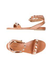 Vic Matié Brown Sandals