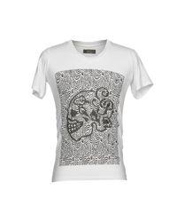 Camiseta Gabriele Pasini de hombre de color White