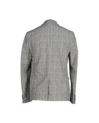 Officina 36 - Gray Blazer for Men - Lyst