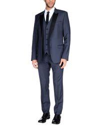 Dolce & Gabbana Gray Suit for men