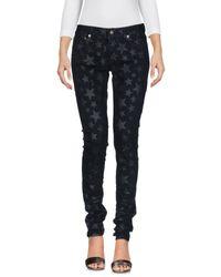 Pantalon en jean Saint Laurent en coloris Black