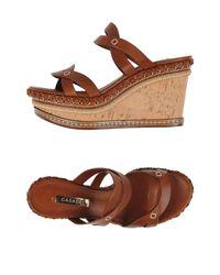 Casadei Brown Sandals
