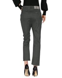 2W2M - Green Casual Trouser - Lyst