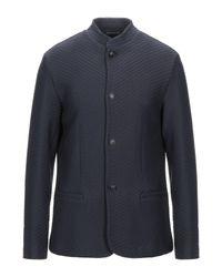 Emporio Armani Blue Jacket for men