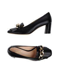 Carla G Black Loafer