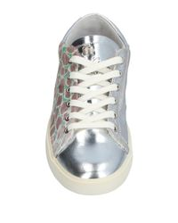 Leather Crown - Metallic Low-tops & Sneakers - Lyst