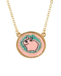 Marc By Marc Jacobs | Metallic Necklace | Lyst