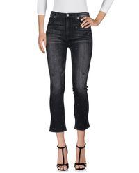 Pantalon en jean Hudson en coloris Black