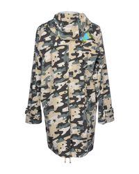 Saucony - Green Overcoat for Men - Lyst