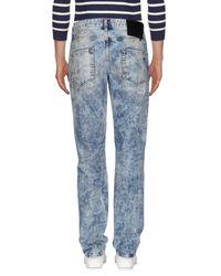 Philipp Plein - Blue Denim Trousers for Men - Lyst