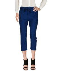 Drykorn Blue 3/4-length Short