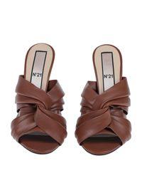 N°21 Brown Sandale