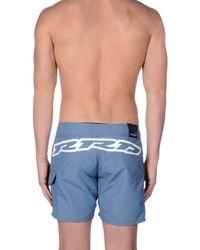 Rrd Blue Swim Trunks for men
