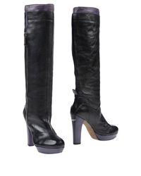 CoSTUME NATIONAL - Black Boots - Lyst