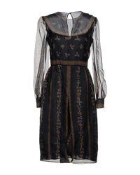Valentino Black Knee-length Dress