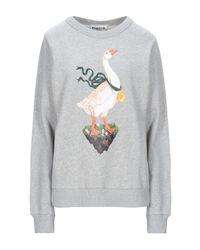 Sweat-shirt Essentiel Antwerp en coloris Gray