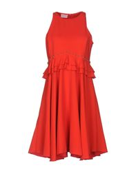 Giamba - Red Short Dress - Lyst