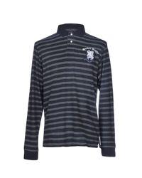 Hackett Blue Polo Shirts for men
