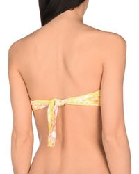 Miss Naory Yellow Bikini-Oberteil