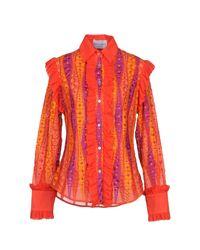 Camicia di Daizy Shely in Red