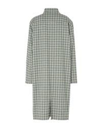 PUMA - Green Overcoat - Lyst