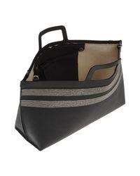 Brunello Cucinelli Gray Handbag