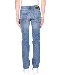 Meltin' Pot Blue Denim Trousers for men