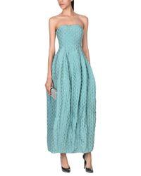 Armani Green Long Dress