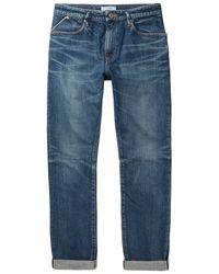 Nonnative Blue Denim Pants for men