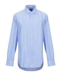 Camisa Bagutta de hombre de color Blue