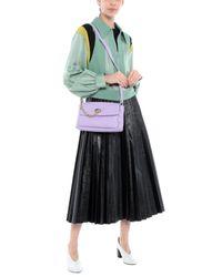 Patrizia Pepe Purple Handbag