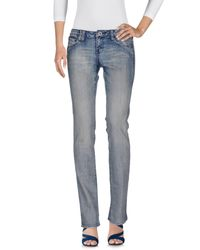 Volcom - Blue Denim Pants - Lyst