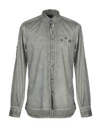 Antony Morato Gray Shirt for men