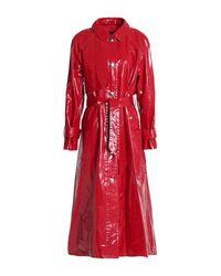 Isabel Marant Red Lange Jacke