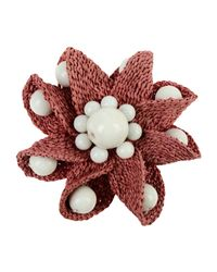 Boutique Moschino - Pink Brooches - Lyst