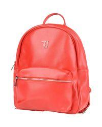 Trussardi Red Backpacks & Fanny Packs
